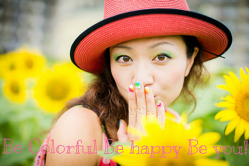 Be Colorful Be Happy Be You!