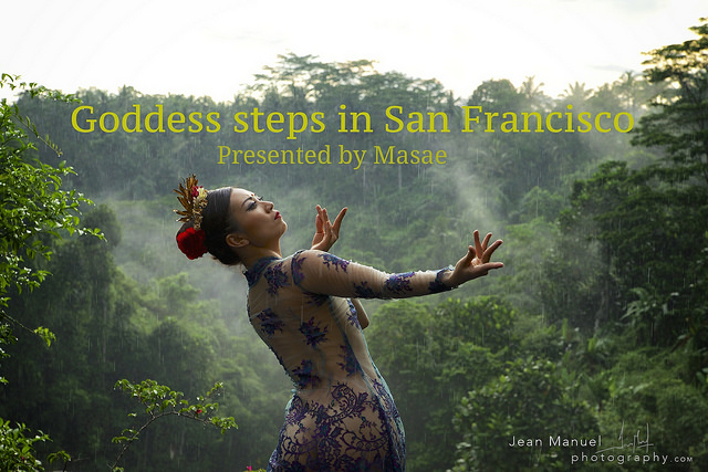 Goddess steps by Masae Satouchi